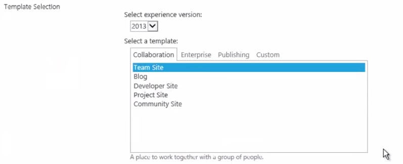 3 simple steps to create sharepoint 2013 site collection for Sharepoint 2013 blog template