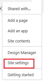 Site Section in SharePoint
