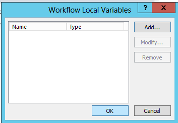 Workflow Local Variables