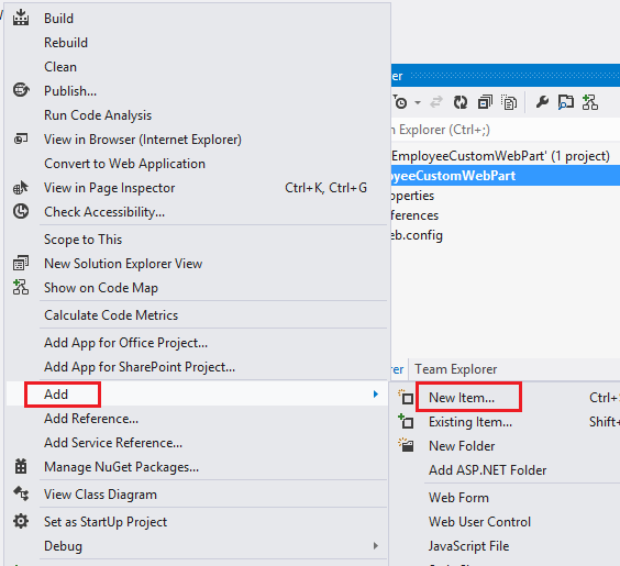 Add New Item to SharePoint 2013